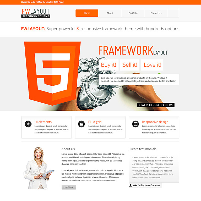 Empower - Responsive Website Template